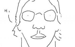 George Romansic self portrait