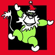 Hot Dog! It's Another Green Monkey Christmas!