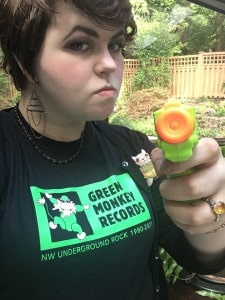 New Green Monkey Recods T-shirt