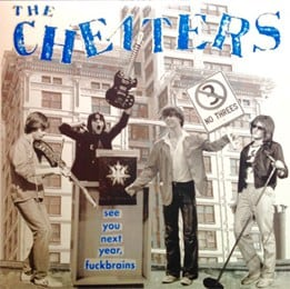 Jan. 2016: The Cheaters – See You Next Year, Fuckbrains