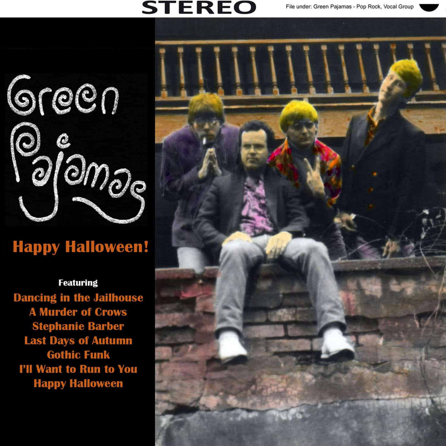 Oct. 2014: Green Pajamas – Happy Halloween