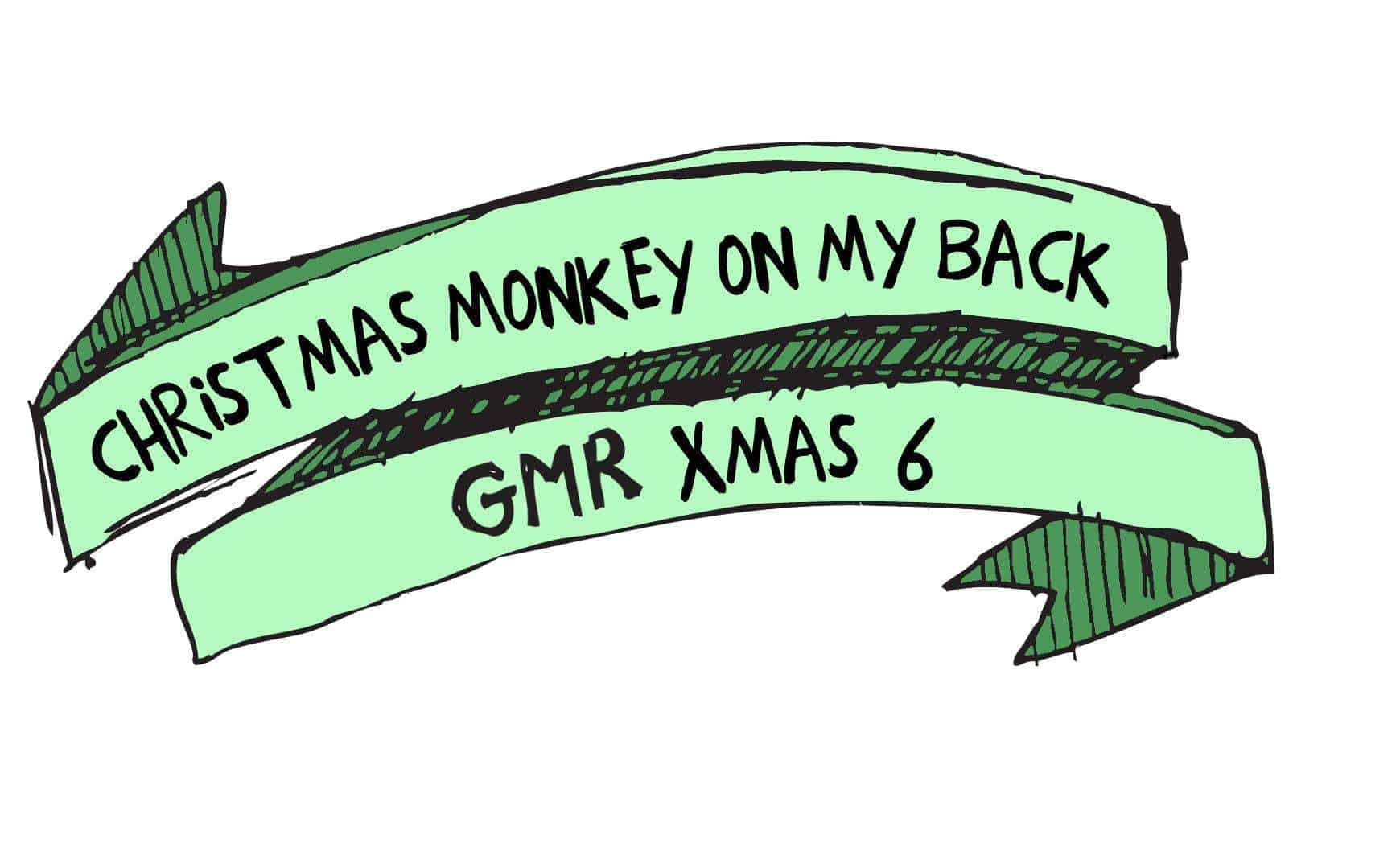 CHRISTMAS MONKEY ON MY BACK AVAILABLE NOW!