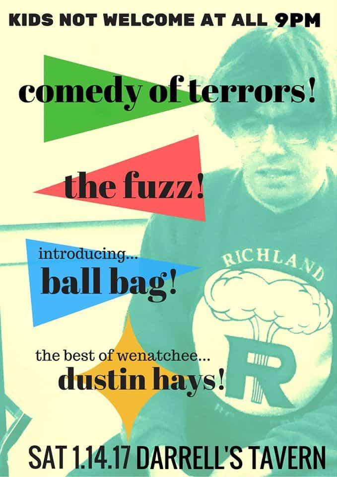 The Fuzz at Darrell's Tomorrow Night – Saturday Jan 14! Kids Not Welcome!