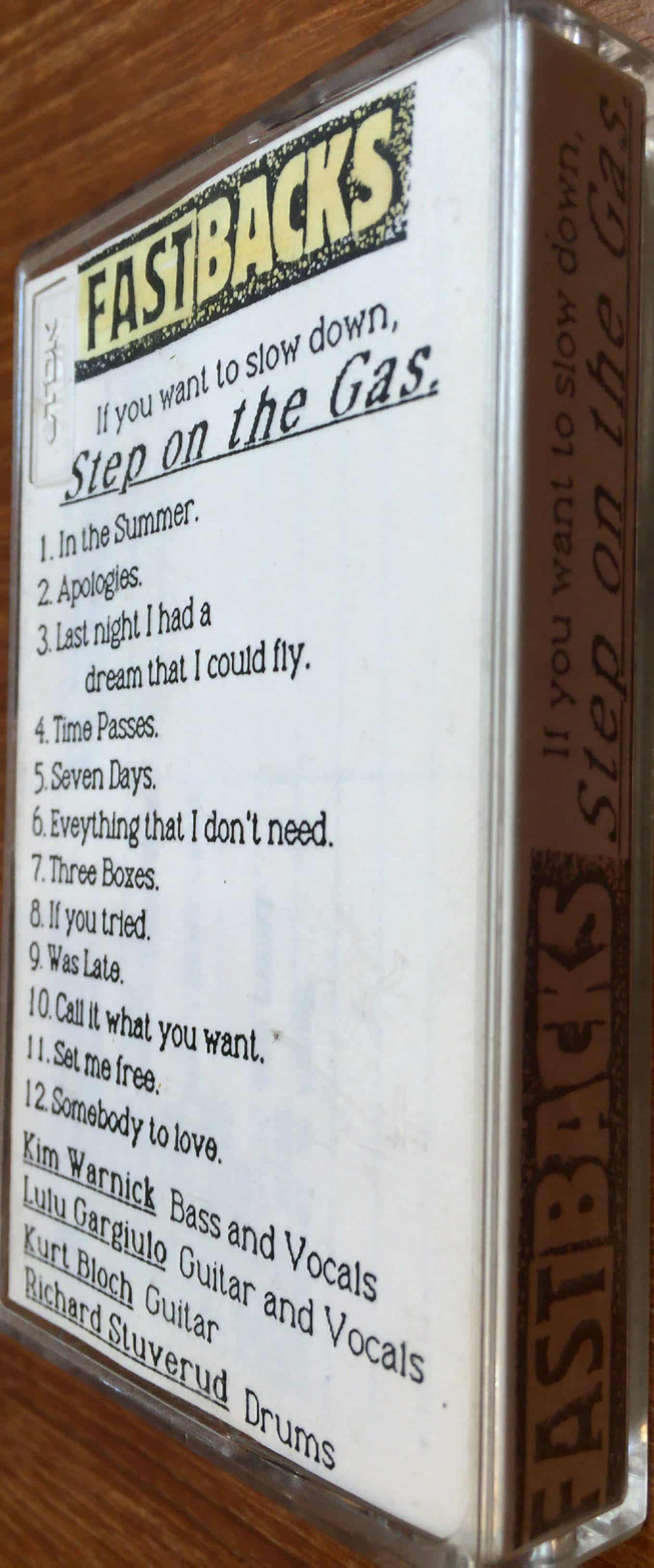 Fastbacks cassette 2