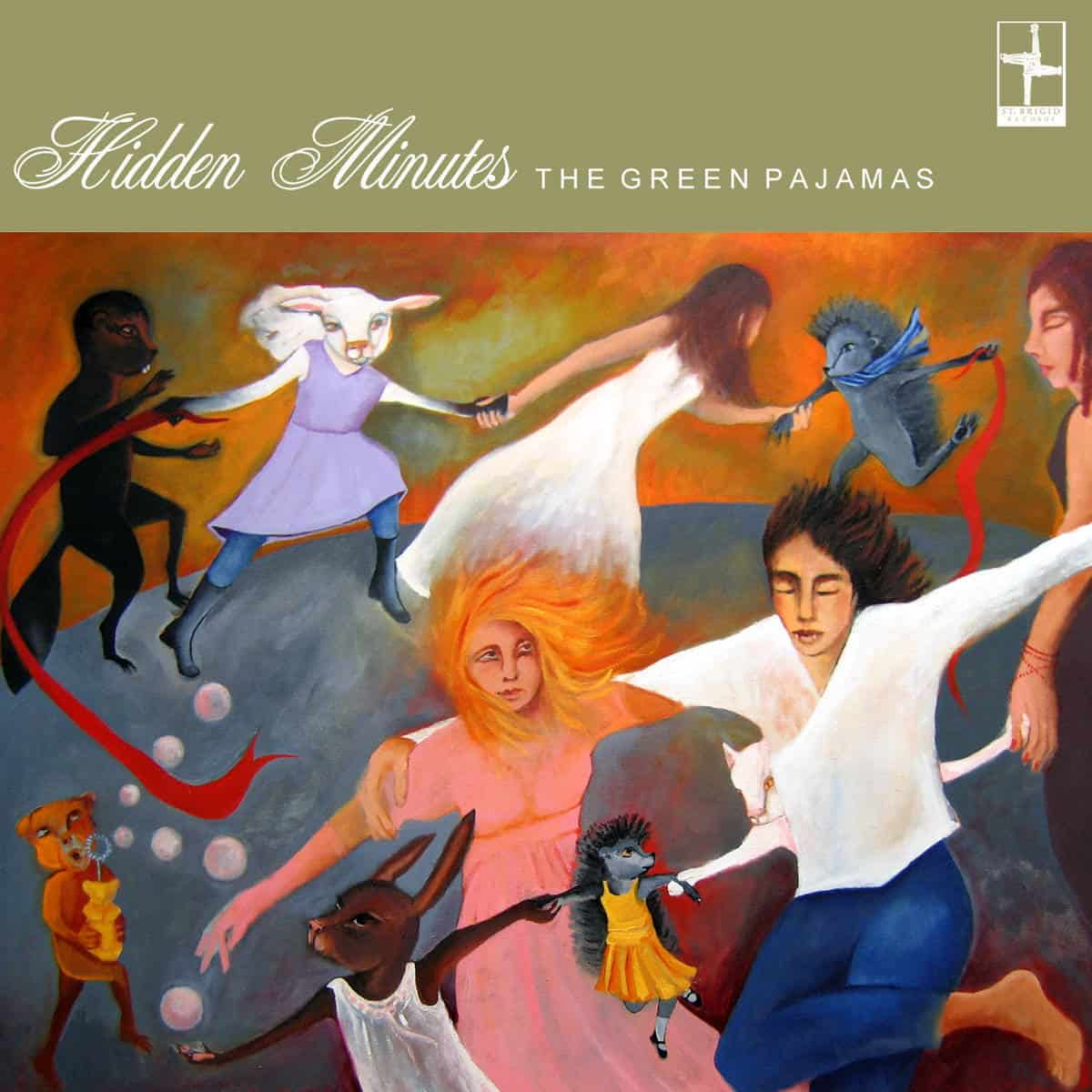 "12"" Vinyl LP The Green Pajamas – Hidden Minutes on Sale now!"