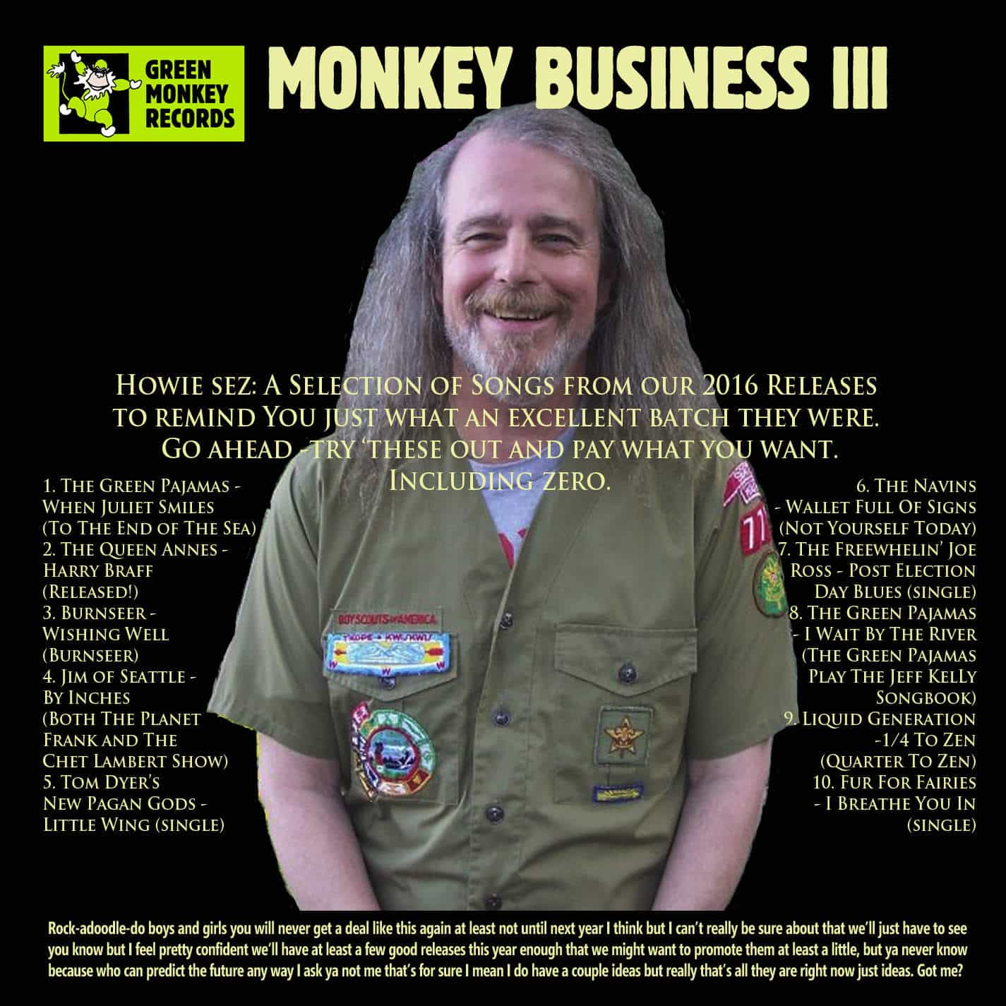 MONKEY BUSINESS 3 OUT NOW – Pay What You Want!