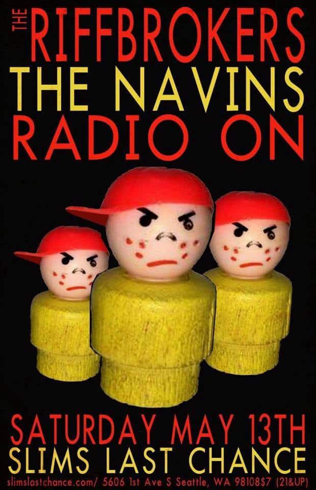 THE NAVINS LIVE TOMORROW SATURDAY MAY 13 @ SLIM'S LAST CHANCE