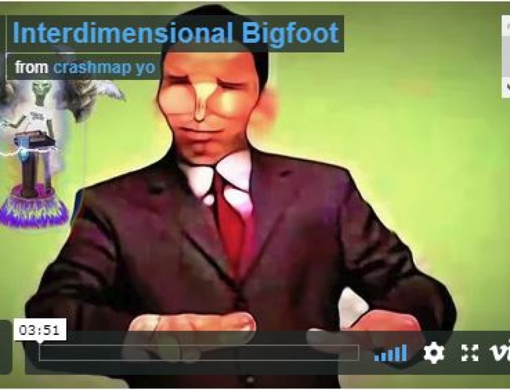 Brain Wizard  Interdimensional Bigfoot