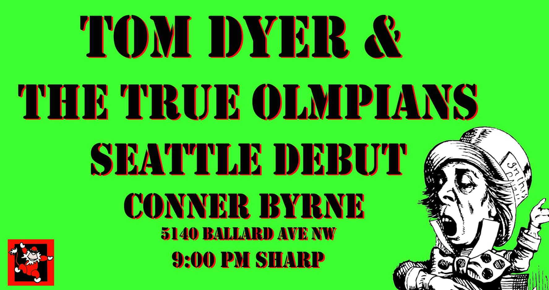 Tom Dyer & True Olympians to Make Seattle Debut!