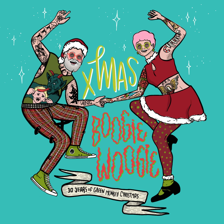 Christmas Boogie Woogie - 10 Years of Green Monkey Christmas