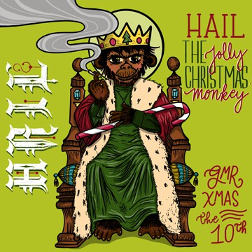 Hail The Jolly Christmas Monkey
