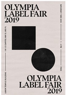 Olympia Record Label Sale This Saturday 1-4:00