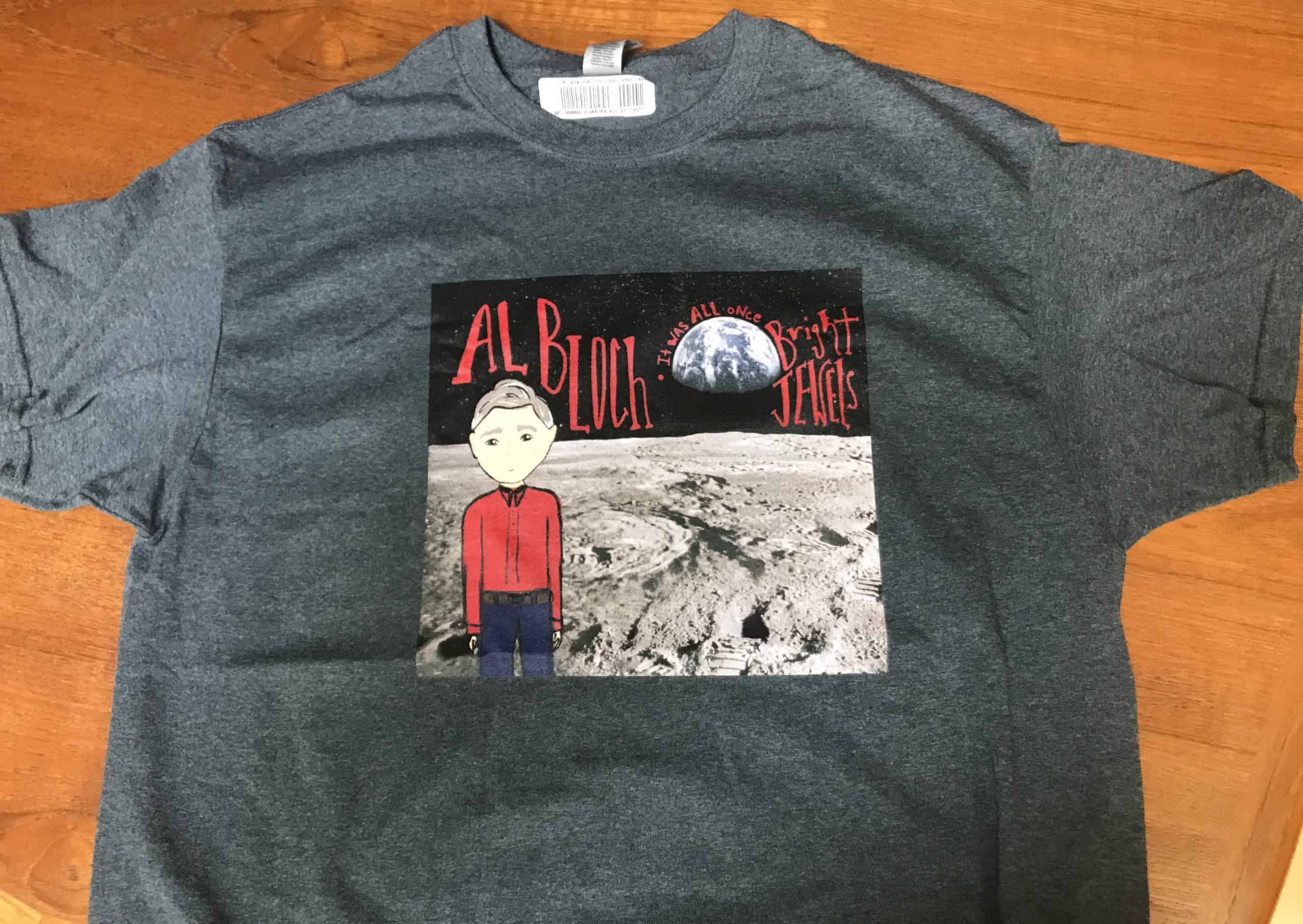 Get yer sweet Al Bloch Moon Shirt!