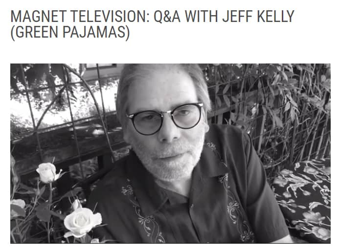Jeff Kelly On Magnet TV!