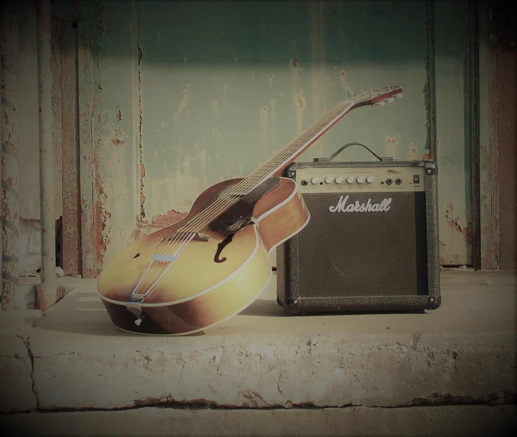 Al Bloch guitar & amp