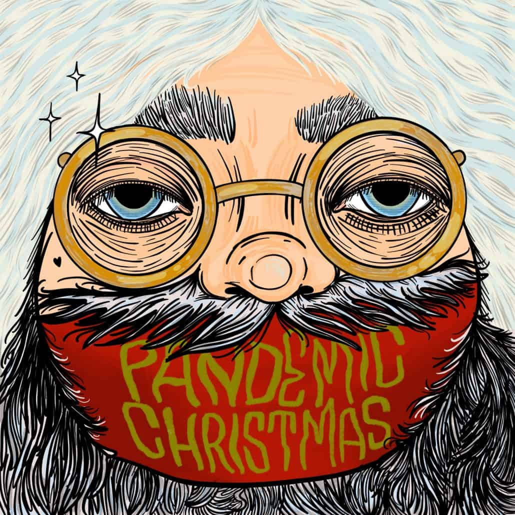 Pandemic Christmas Green Monkey Records Christmas