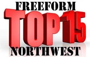 Free Form Northwest Top 15