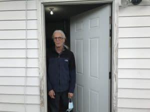 Steve Trettevik front door