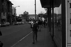 Michael Cox on the street