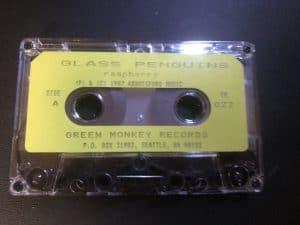 Glass Penguins raspberry cassette
