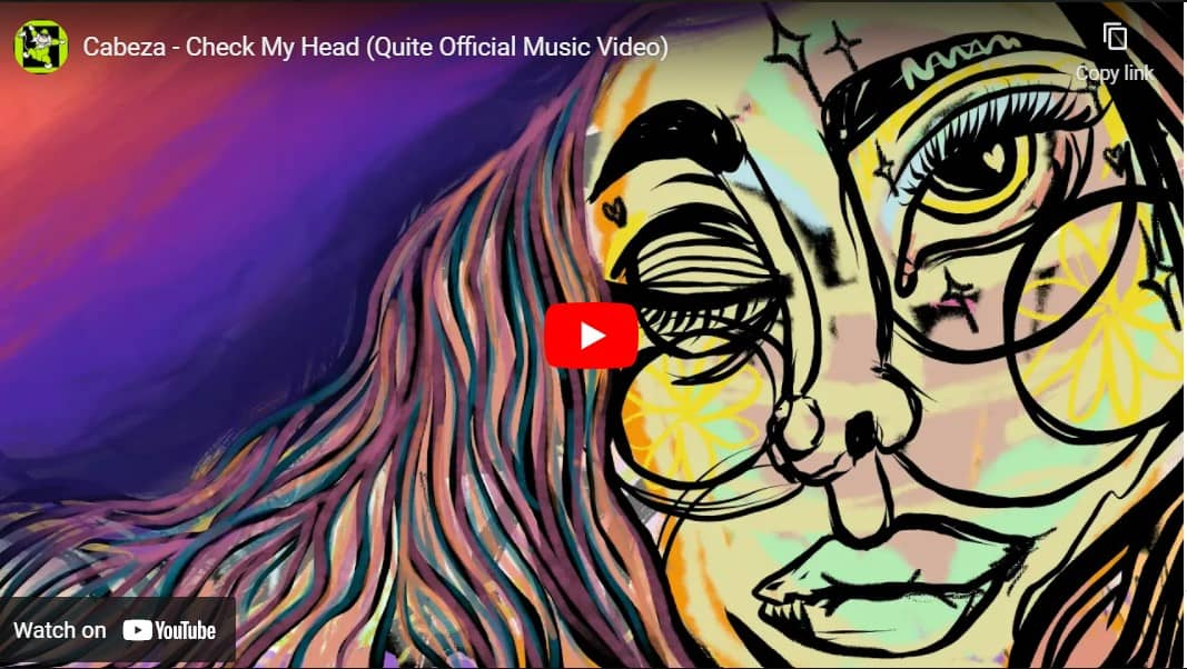 """Cabeza Video for """"Check My Head"""" Out Now!"""