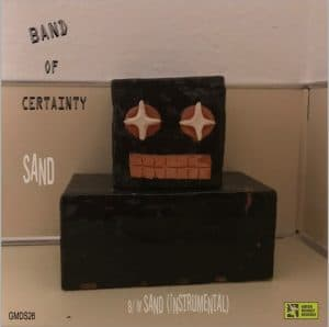Band of Certainty - Sand (single cover)